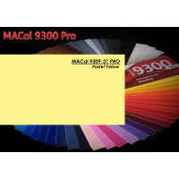 MAC 9309-21 Pastel Yellow 123cm x 50m