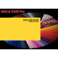 MAC 9309-58 Daffodil Yellow 123cm x 50m