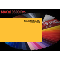 MAC 9309-59 Canari Yellow 123cm x 50m