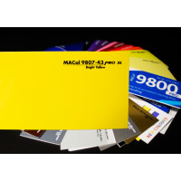 Mactac 9807-43 Bright Yellow SL