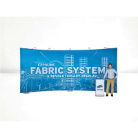 Fabric System package soft bag 2 poles