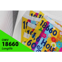 One Way Vision Longlife 1,52m x 1m